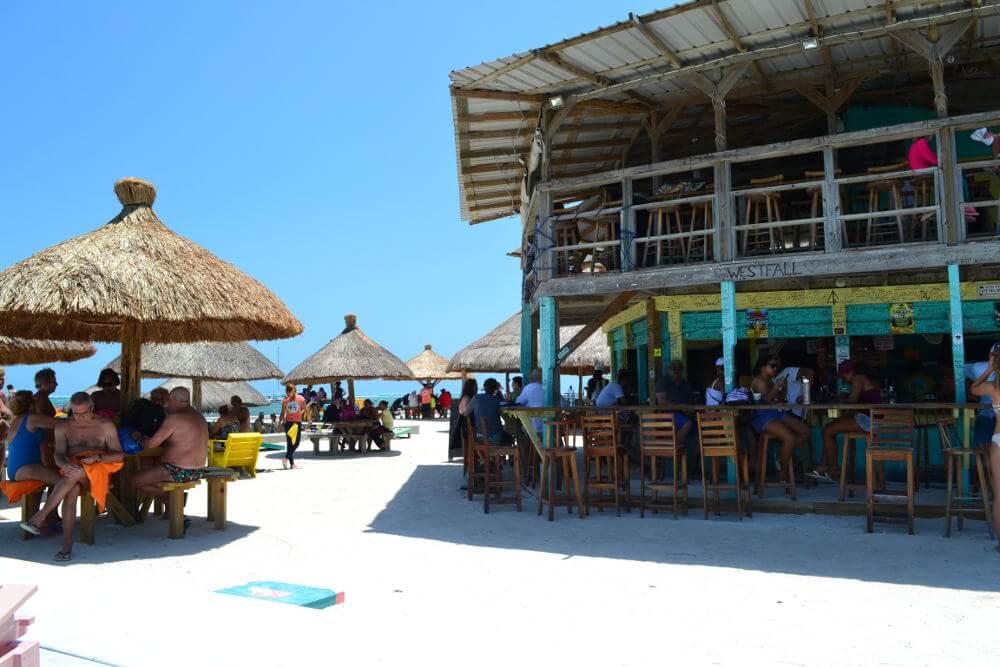 Stranden van Caye Caulker