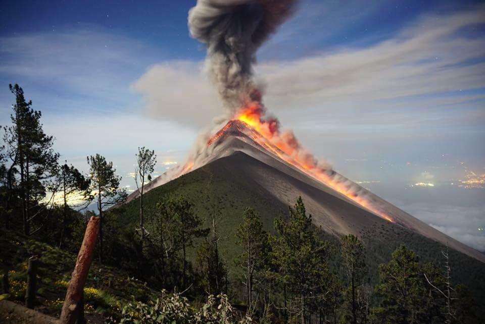 Acatenango vulkaan