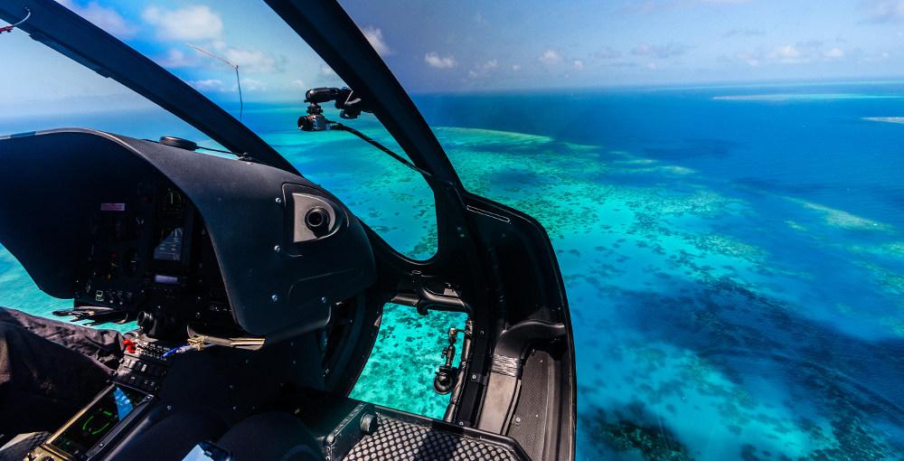 Helicopter vliegen Australie
