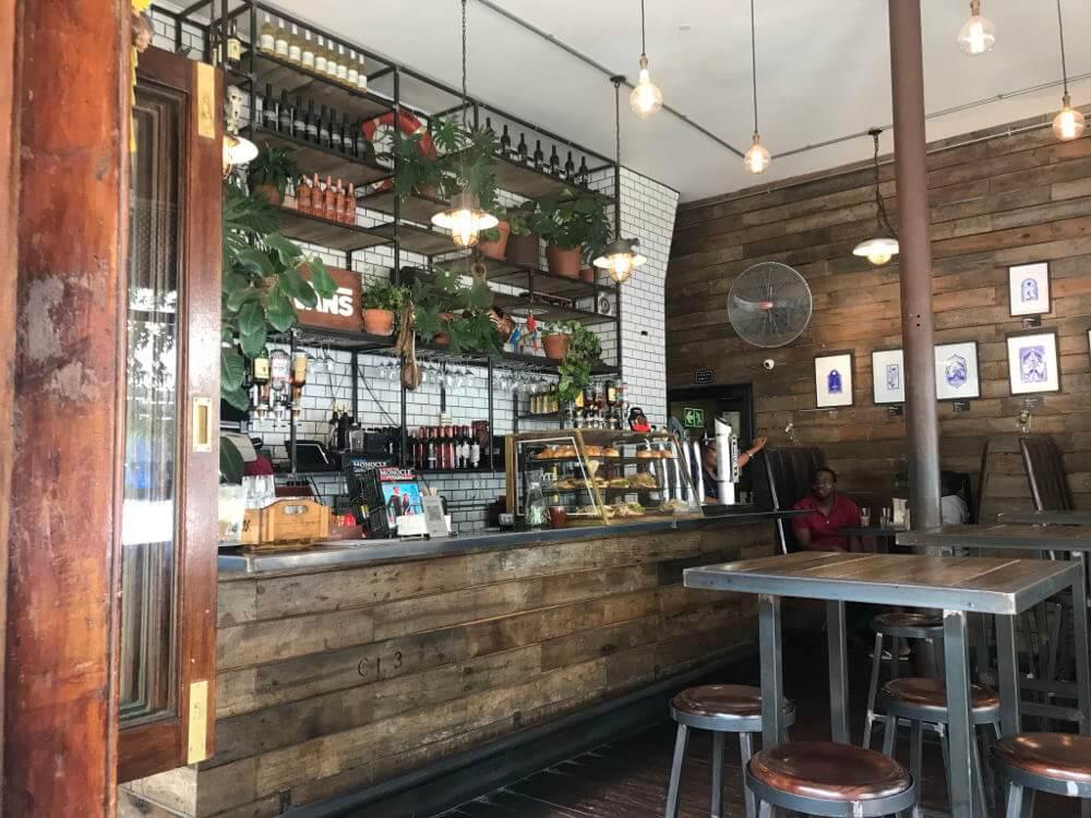 bar in Gardens, Zuid-Afrika