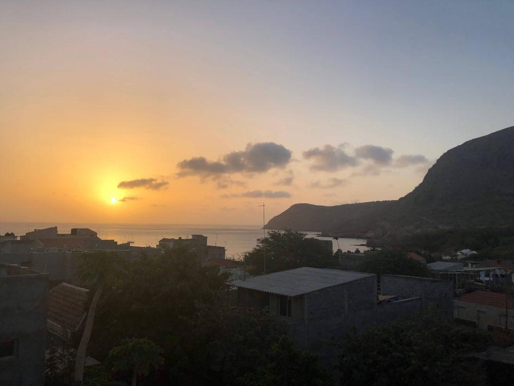 zonsondergang in Tarrafal