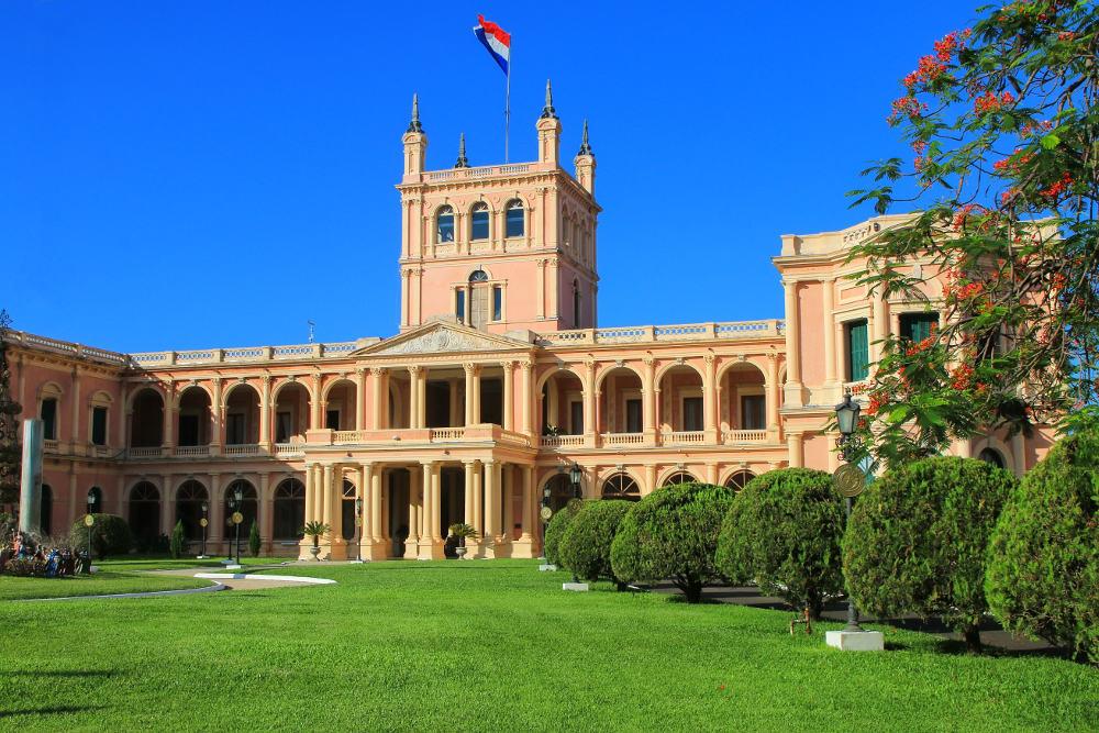 Palacio de los López in Asuncion