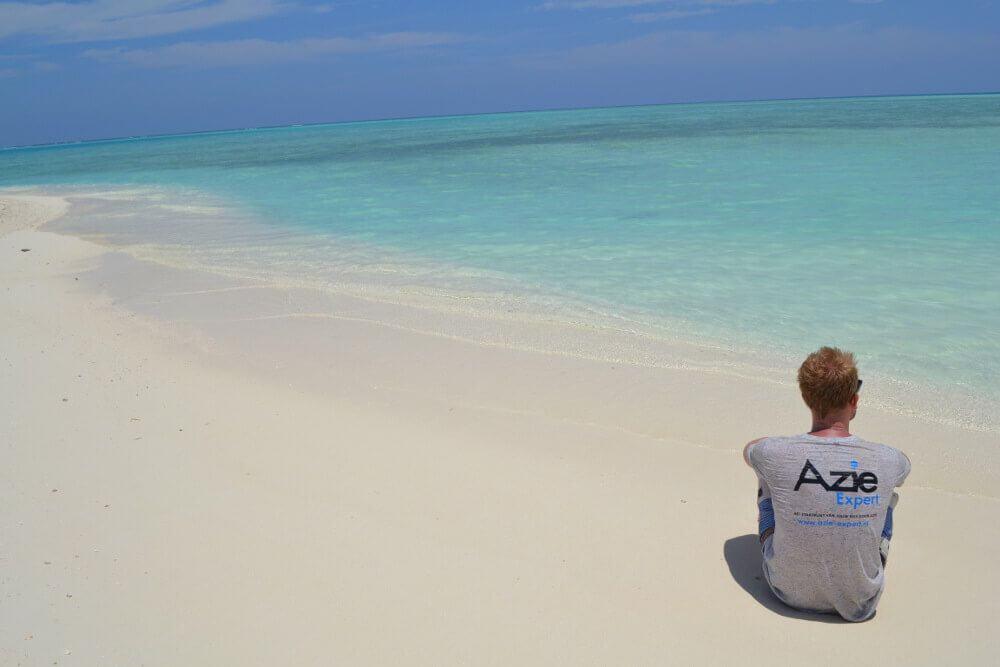 Ties in de Malediven
