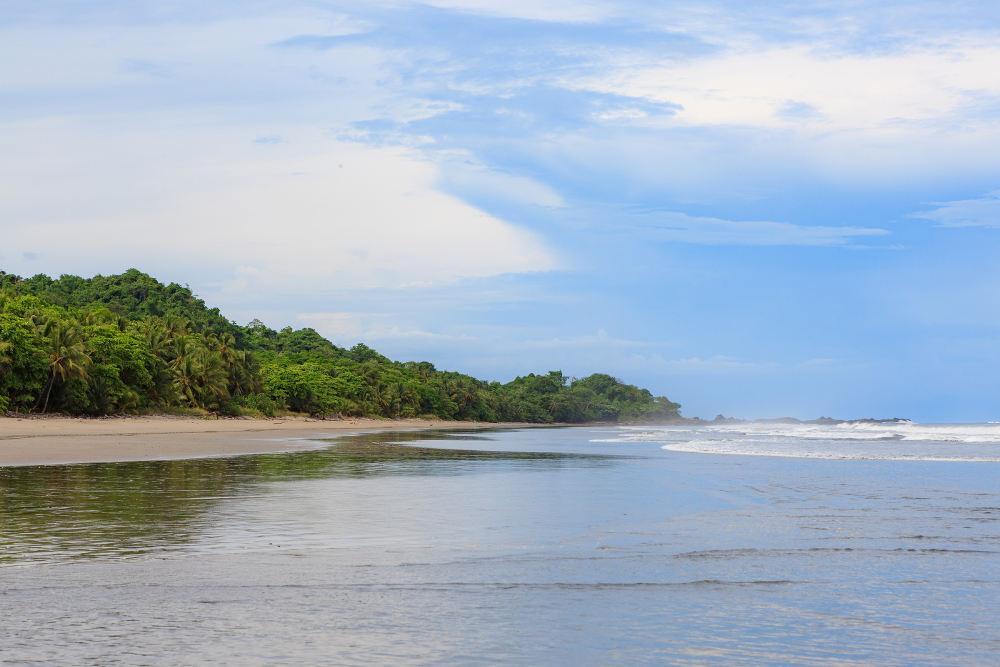 Route door Costa Rica