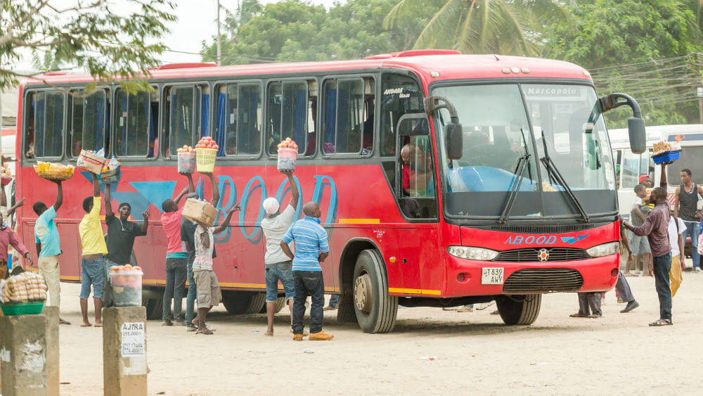 Vervoer in Tanzania