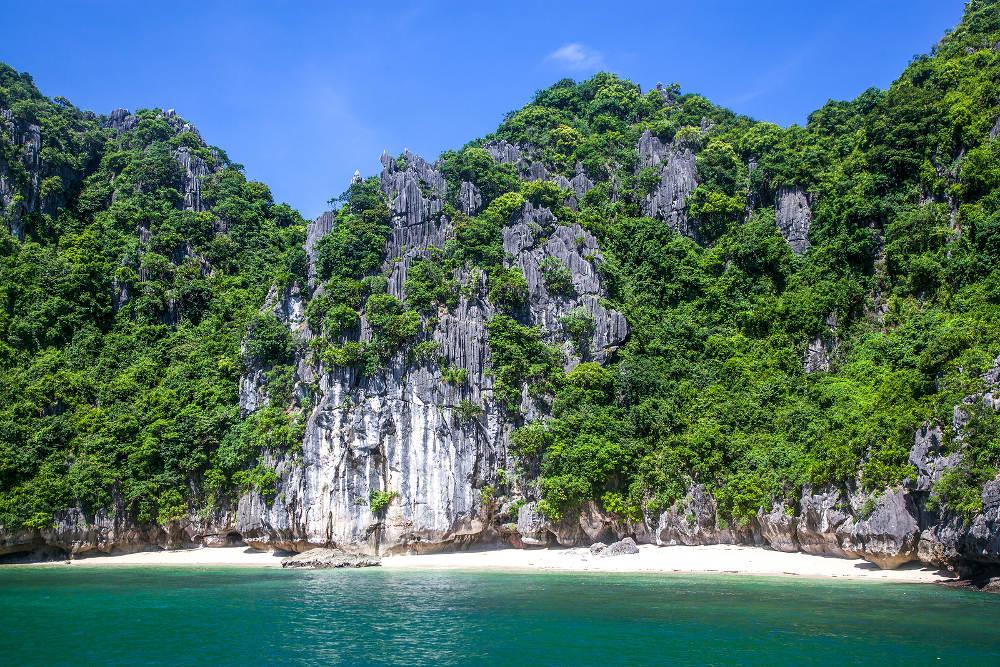 Stranden Han La Bay