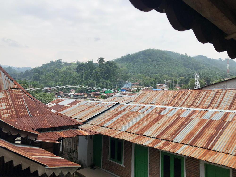 Het dorp Bukit Lawang