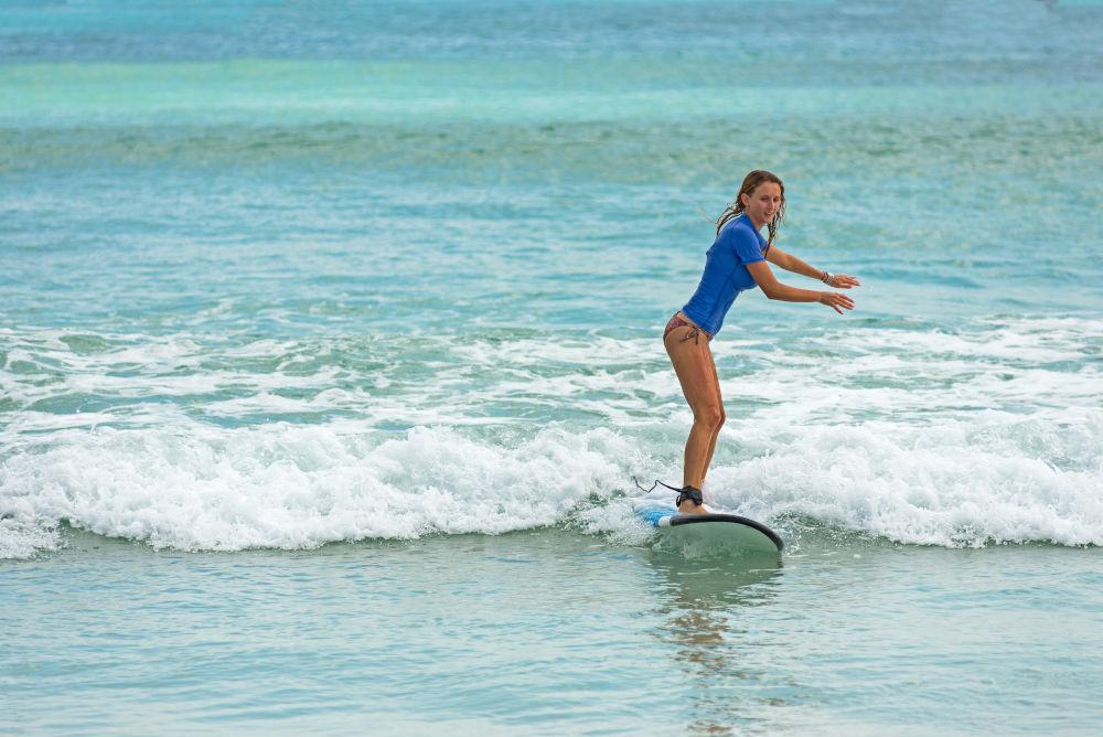 surfen op Lombok