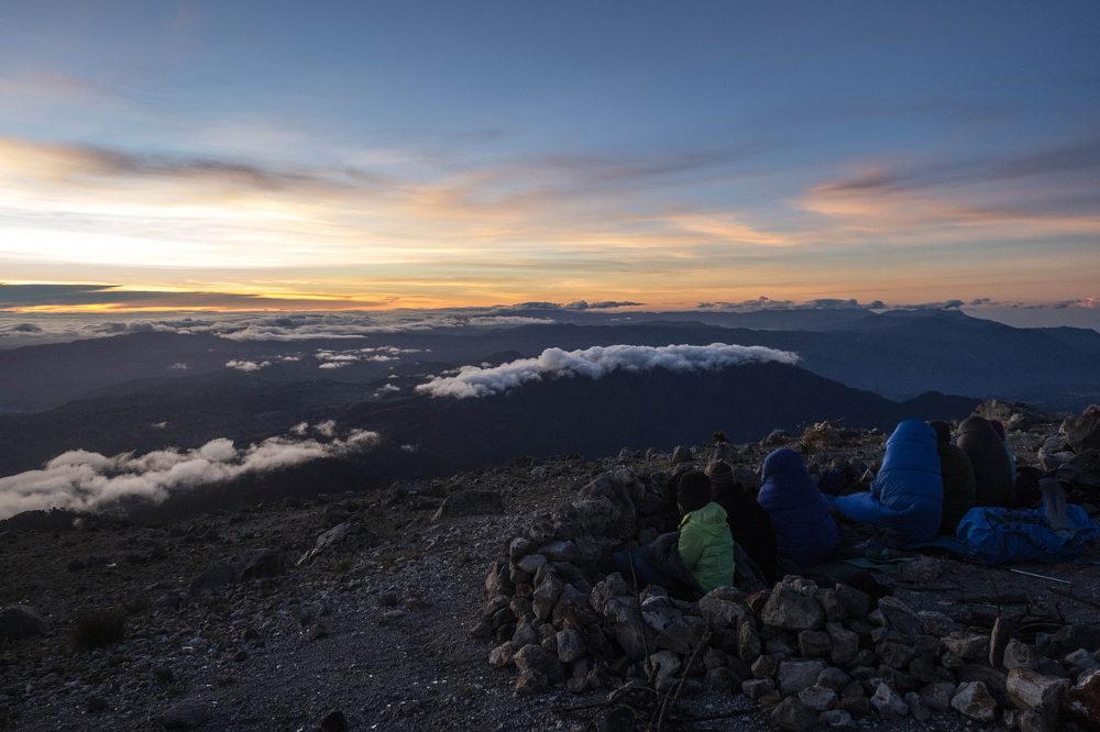 Vulkanen in Guatemala