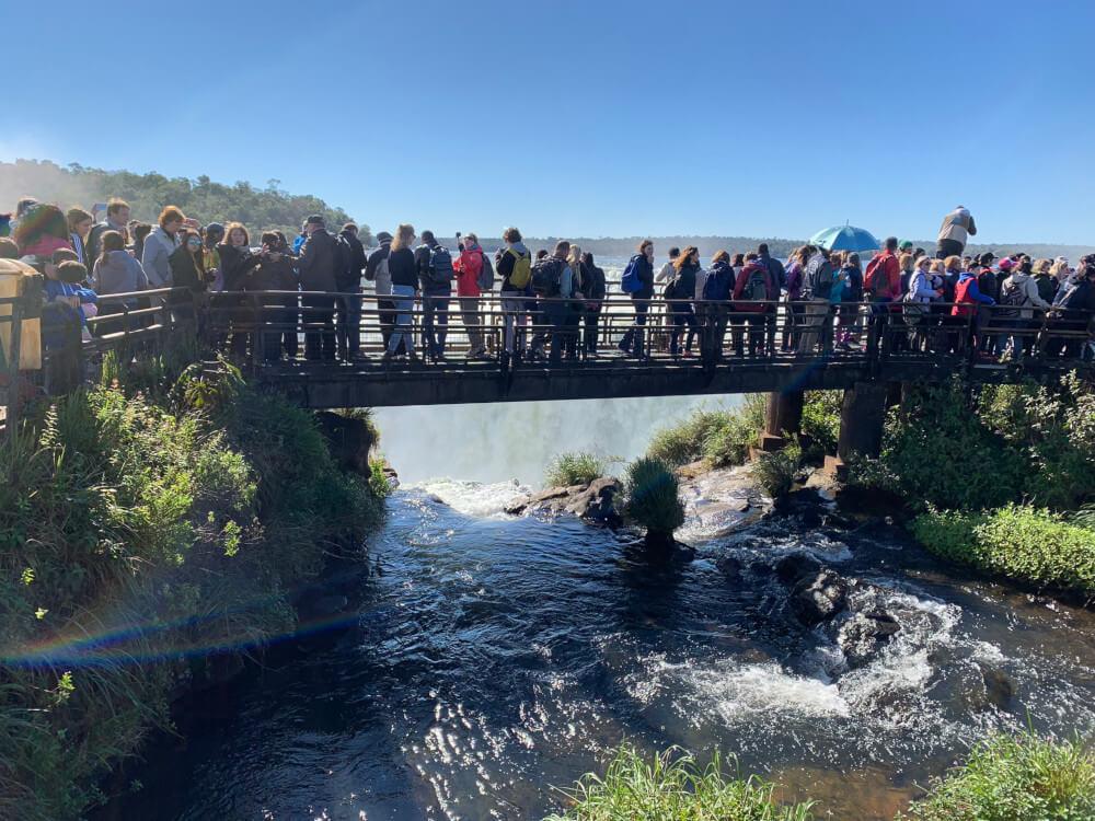 loopbrug waterval