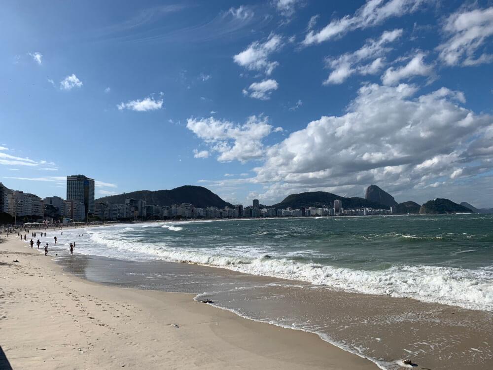 Copacabana Rio de Janeiro Brazilie