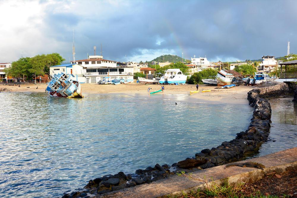 San Cristobal op de Galapagos eilanden