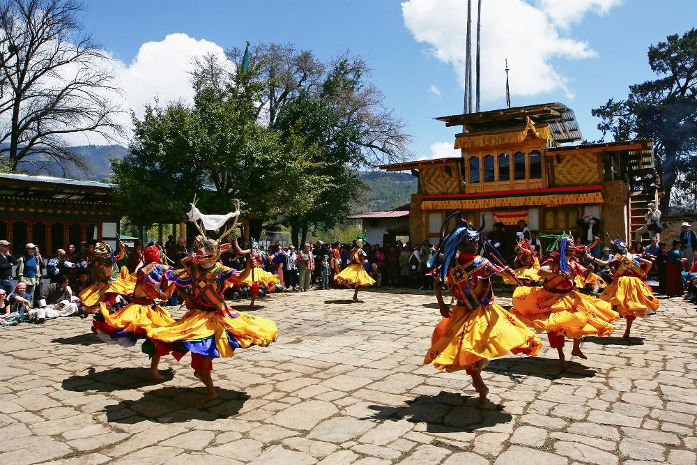 Bhutan bezoeken