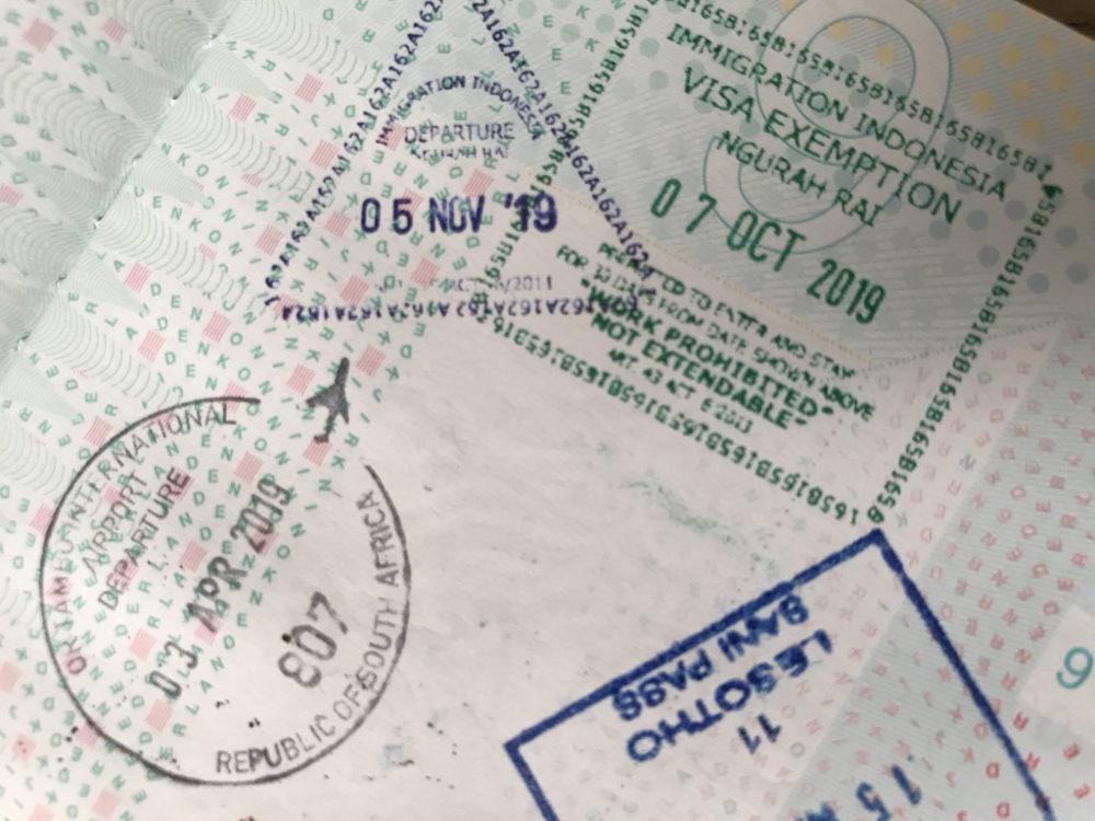 Visum voor Indonesië