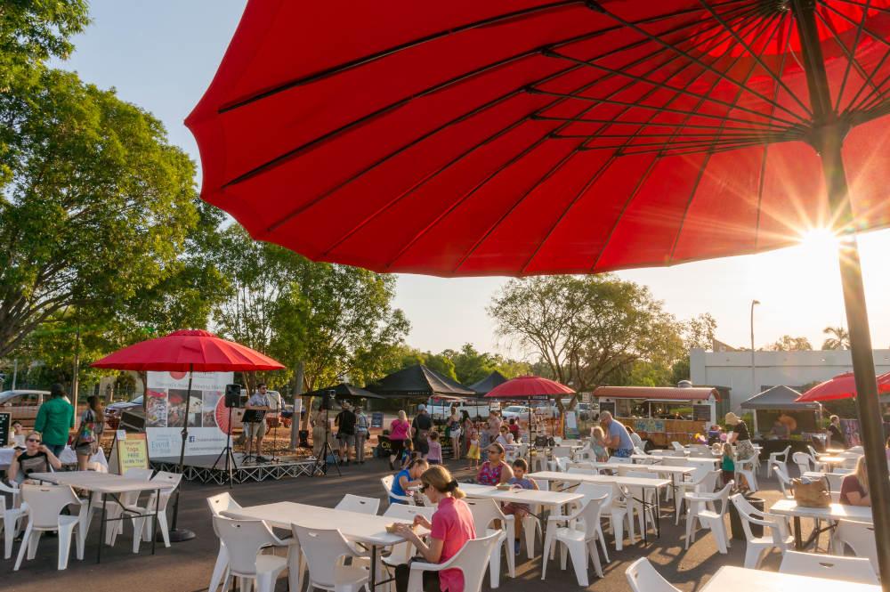 Market in Darwin