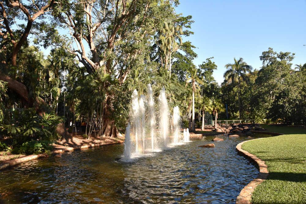 Botanische tuin Darwin