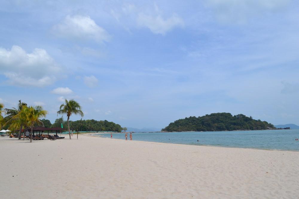 strand op Langkawi