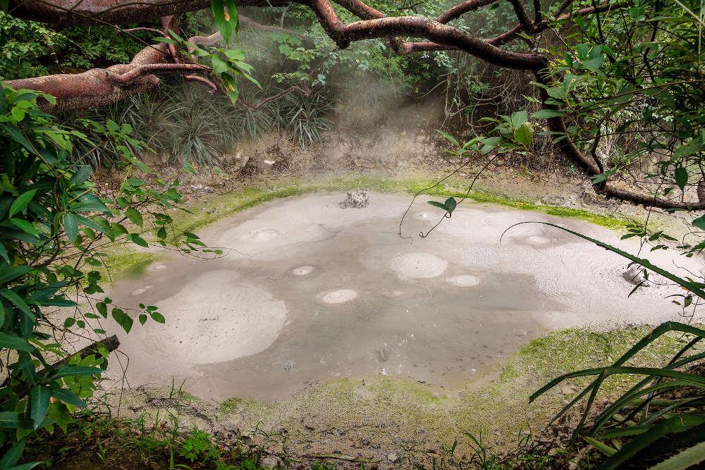 Rincón de La Vieja mud guanacaste costa rica