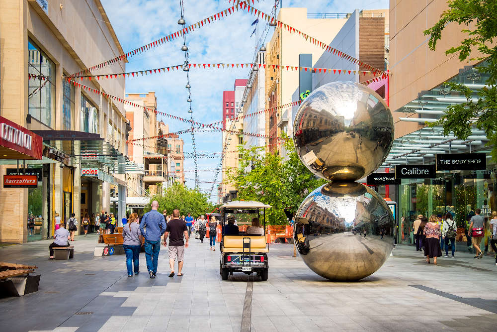 Rundle Mall Adelaide