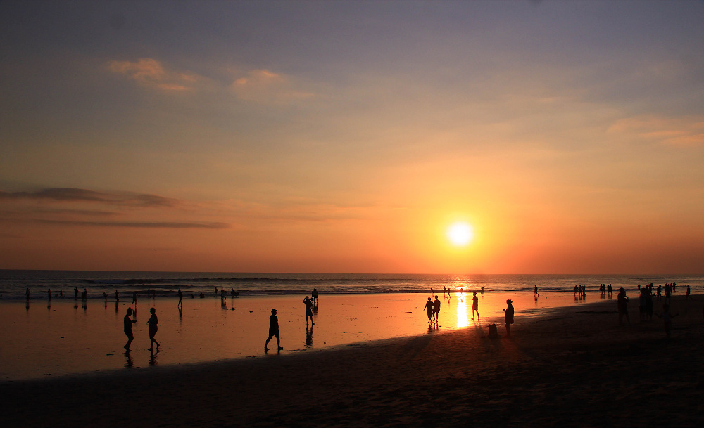 Seminyak sunset Badung Bali Indonesie