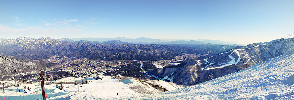 skiing Hakuba Japan