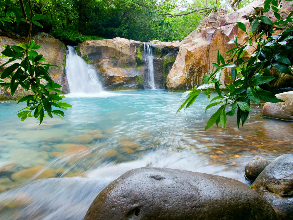 waterfall Rincón de La Vieja National Park guanacaste Coasta Rica