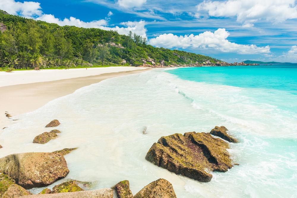 Anse Lazio Beach Praslin Seychellen.