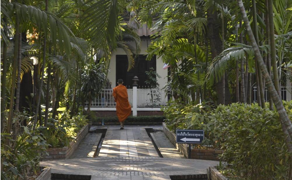 Monnik in Chiang Mai THailand
