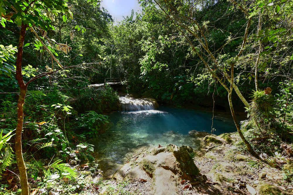 El-Nicho-Waterfalls Cienfuego In-Cuba