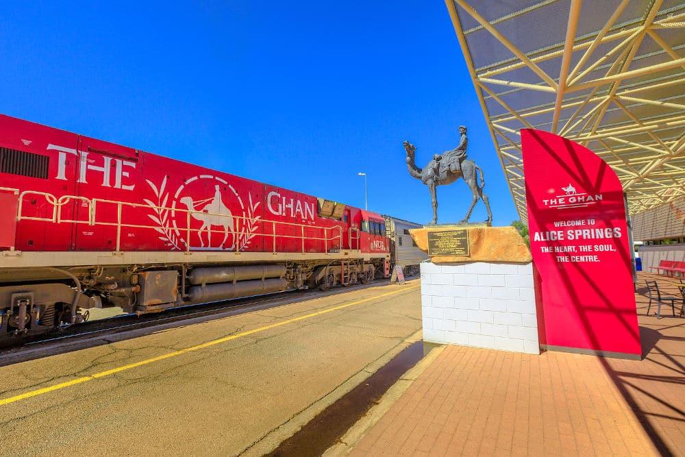 Ghan Train Alice Springs