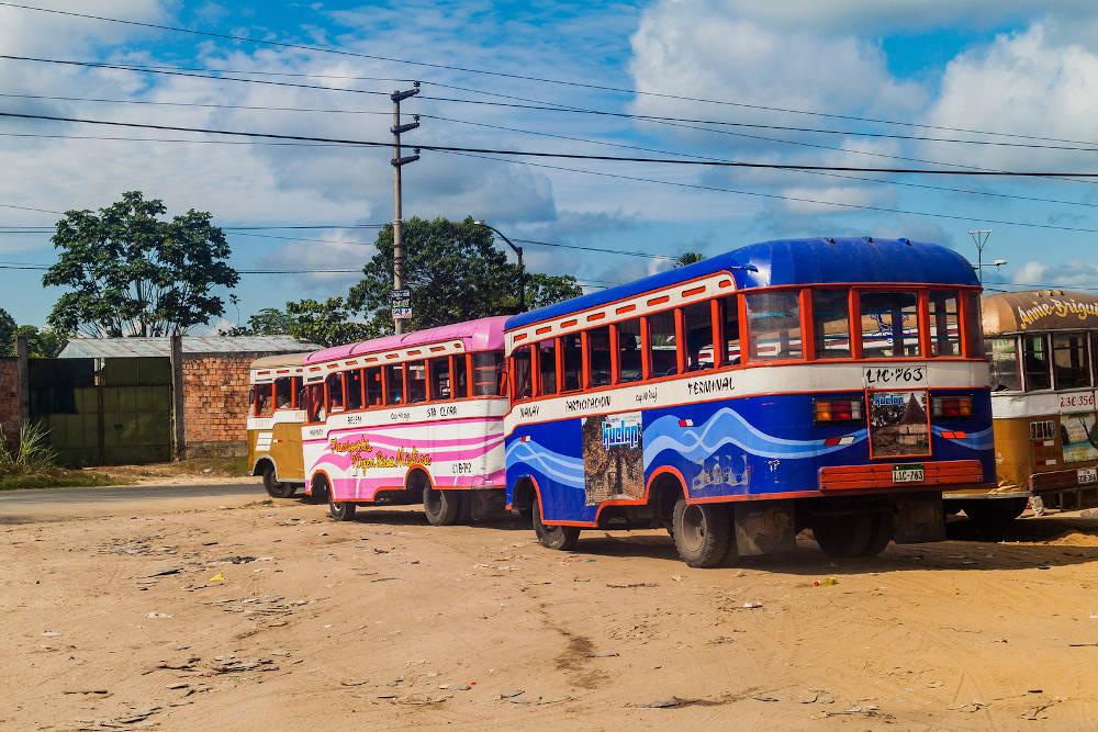 Iquitos busses -Peru-