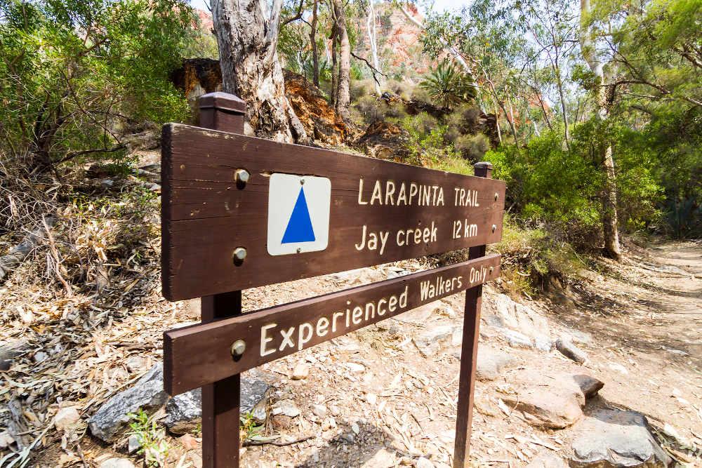 Larapinta trail Alice Springs