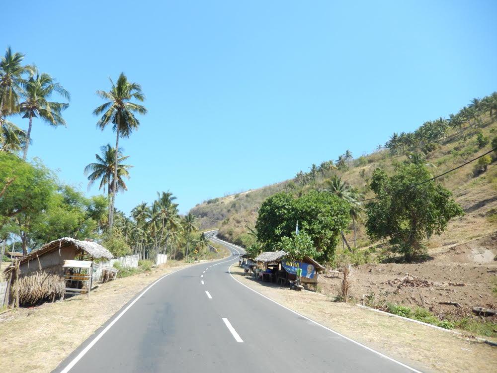 op de Brommer in Indonesie