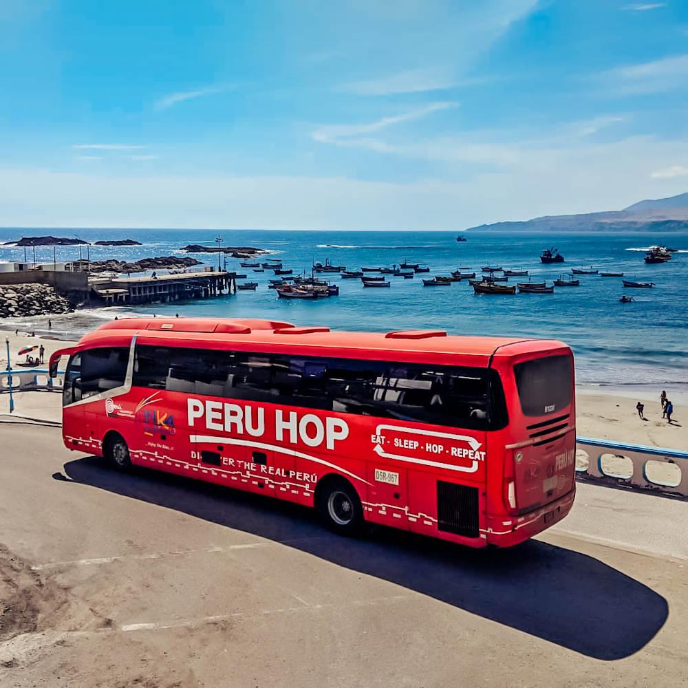 Peru Hop bussen Peru