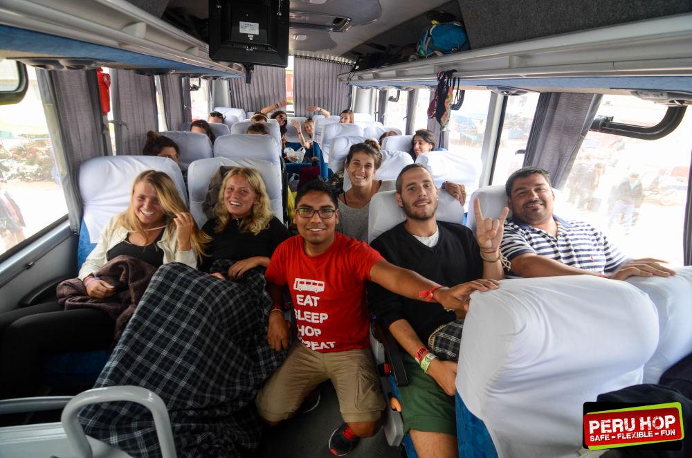 interior Peru Hop bussen
