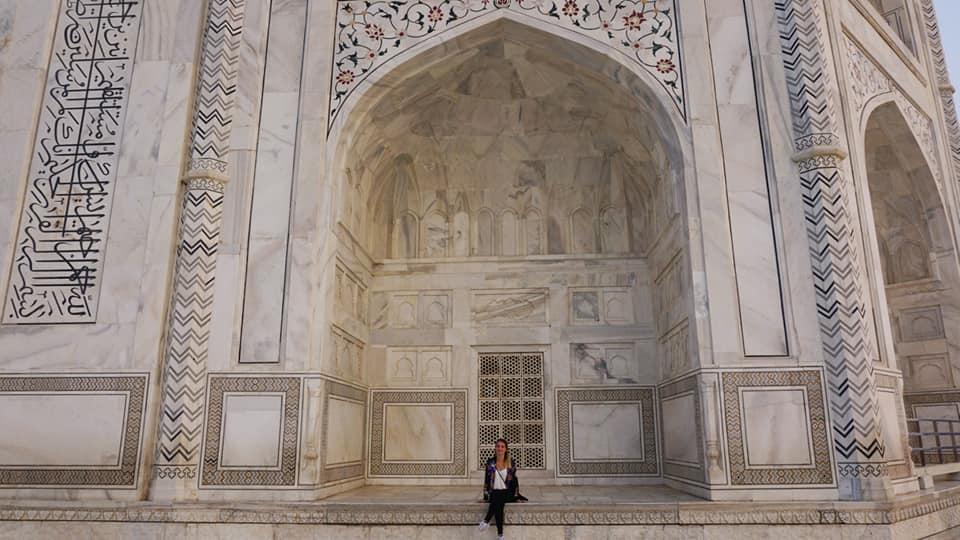 Reizen-vrouw-India