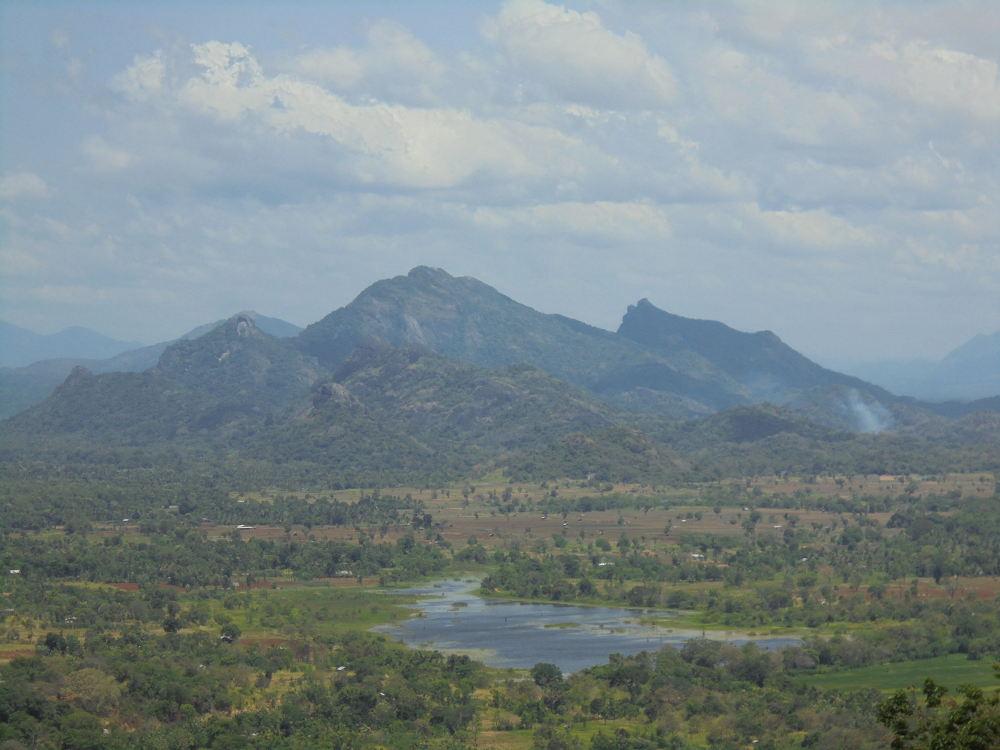 Uitzicht Sigiriya
