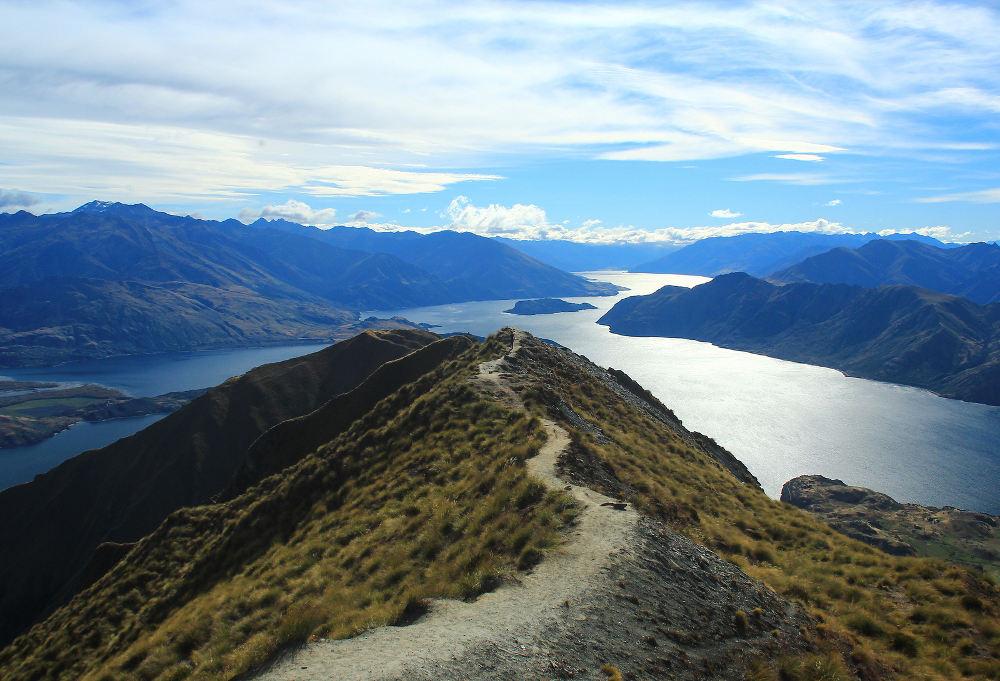 Wandelingen in Nieuw-Zeeland