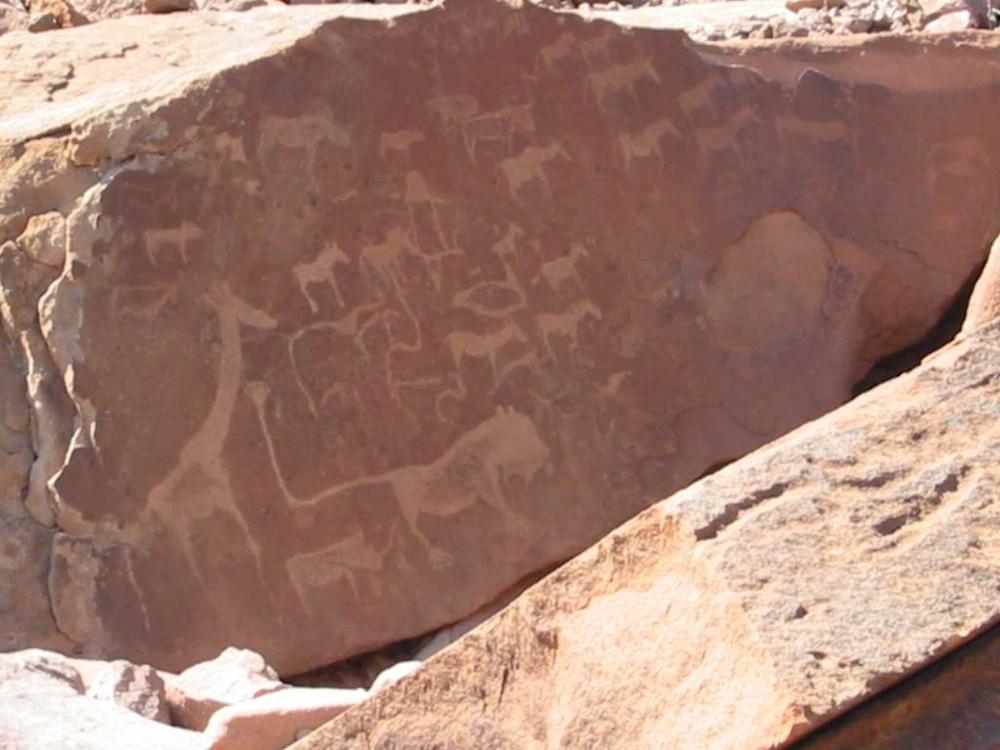 markings twijfelfontein
