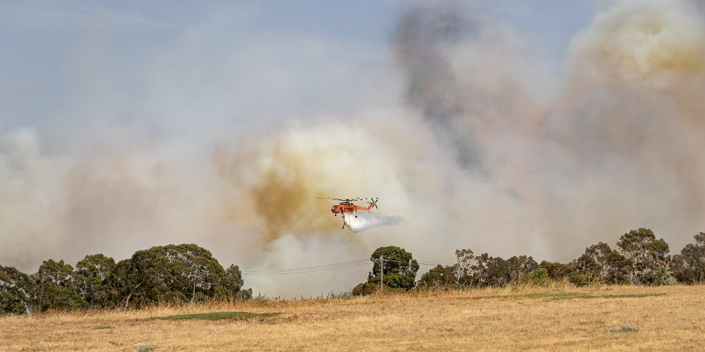 Bosbranden in Australie