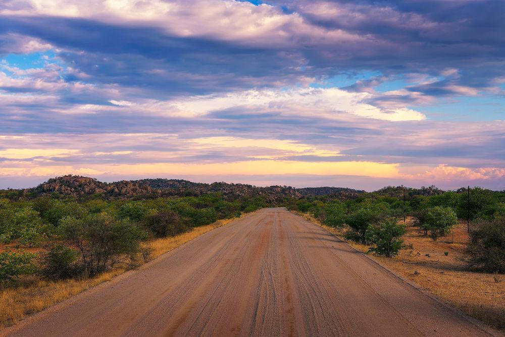 gravelweg Namibie