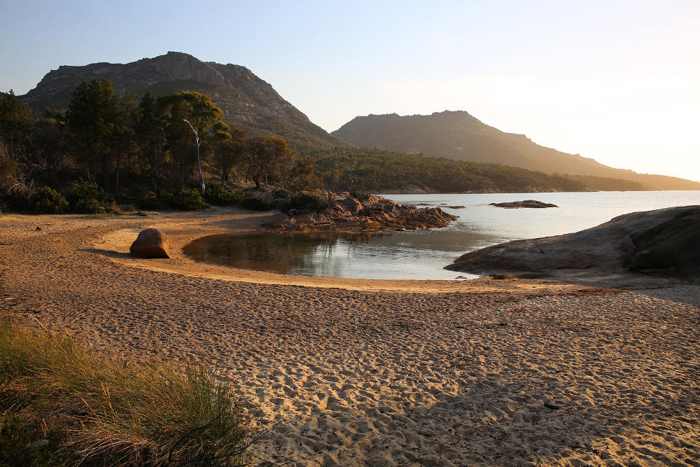 Honymoon Bay Freycinet National-Park