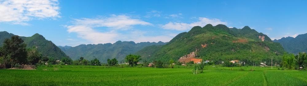 omgeving Mai Chau Vietnam
