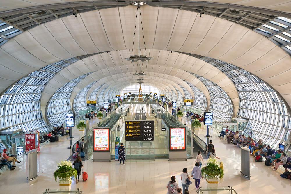 Van Bangkok airport naar Khao San Road