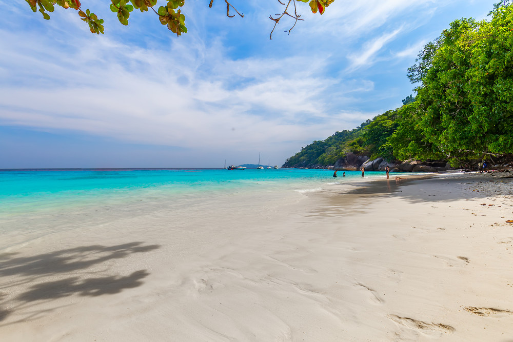 De Similan eilanden