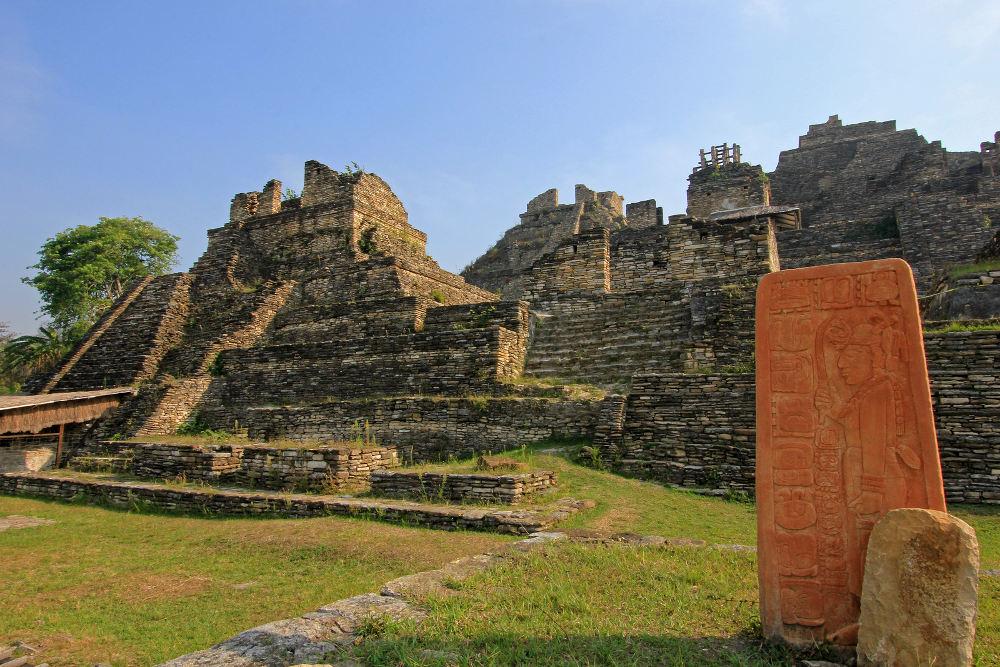 Tonina ruïnes