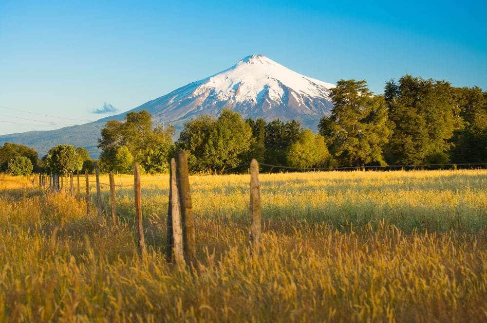 Villarrica Vulkaan