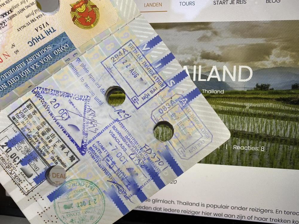 Visum voor Thailand