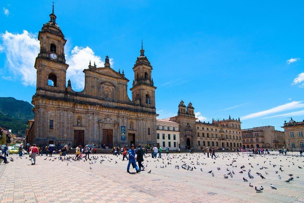 Plaza de Boliva in Bogota