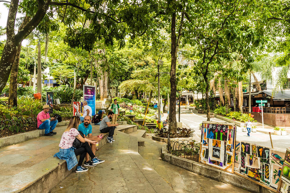 Lleras Park, Medellin